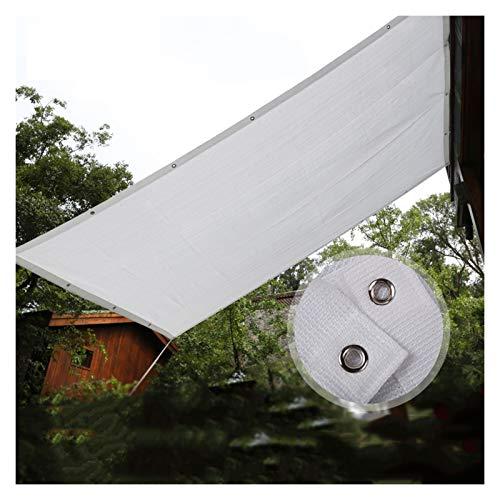 LSSB Solar Sombra Paño Engrosamiento de Cifrado de 6 Pines Toldos para Jardin Protección UV, a Prueba De Viento, Enfriamiento, para Exterior Balcón Refugio De Patio, Personalizable