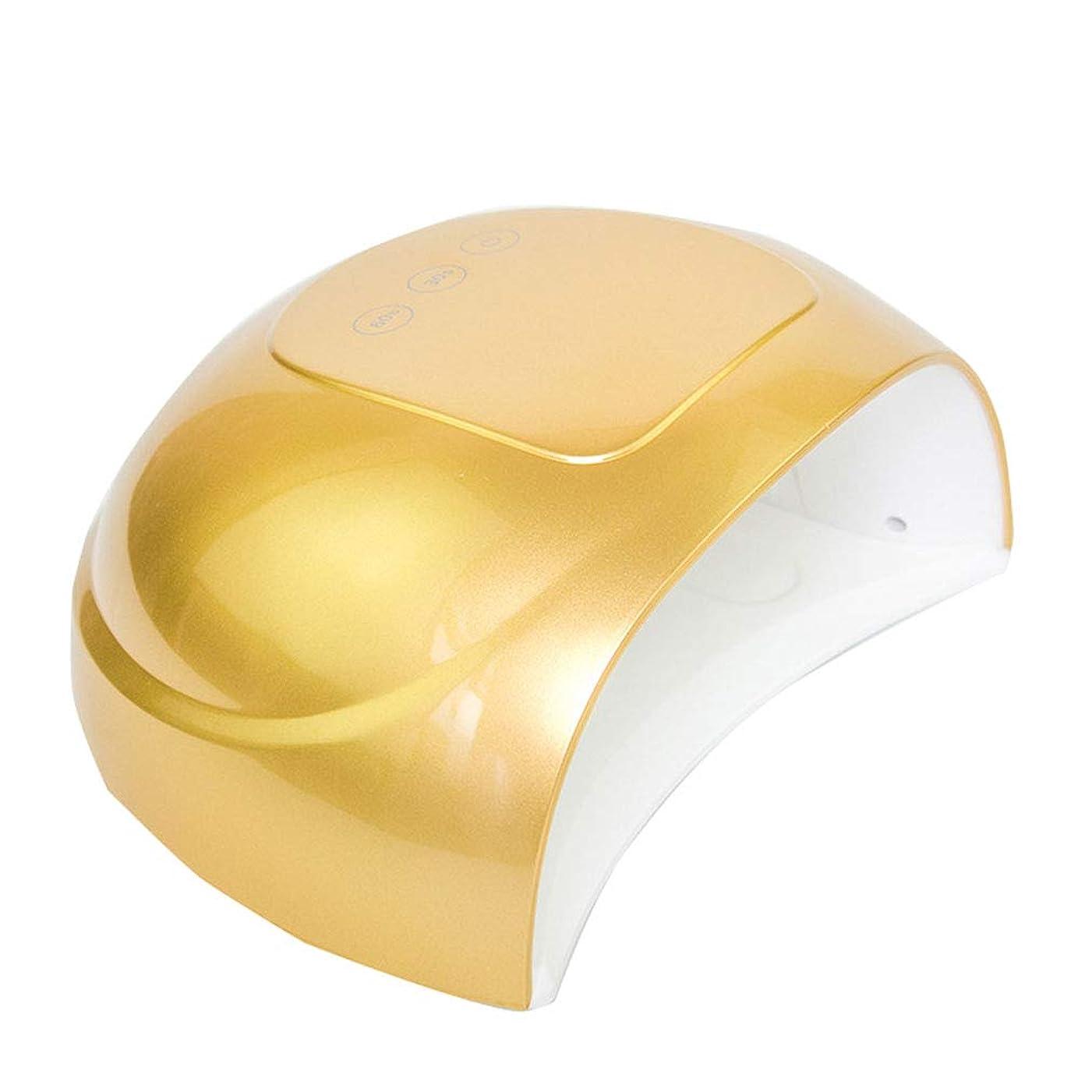 自分の力ですべてをする履歴書ペンダントネイルドライヤー新しい36ワット紫外線ledランプすべてのタイプジェルled紫外線ランプ用ネイルマニキュア日光赤外線センシングスマート,Gold