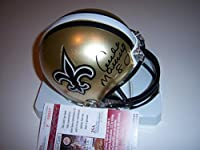 Archie Manning New Orleans Saints,rebels Jsa/coa Signed Mini Helmet - Autographed NFL Mini Helmets