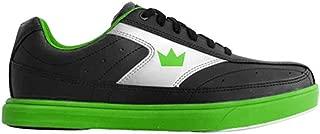 Brunswick Mens Renegade Bowling Shoes- Black/Neon Green