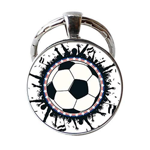 Llavero de balón de fútbol
