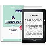 iLLumiShield Matte Screen Protector Compatible with Amazon Kindle Voyage (3-Pack) Anti-Glare Shield Anti-Bubble and Anti-Fingerprint PET Film