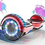 SOUTHERN WOLF Hoverboard, Hoverboard Bambini da 6,5 Pollici, Hoverboard Elettrico con Motore 2 * 350W, Ruote con luci a LED, Altoparlante Bluetooth, Hoverboard Kart Adatto per Regali per Bambini