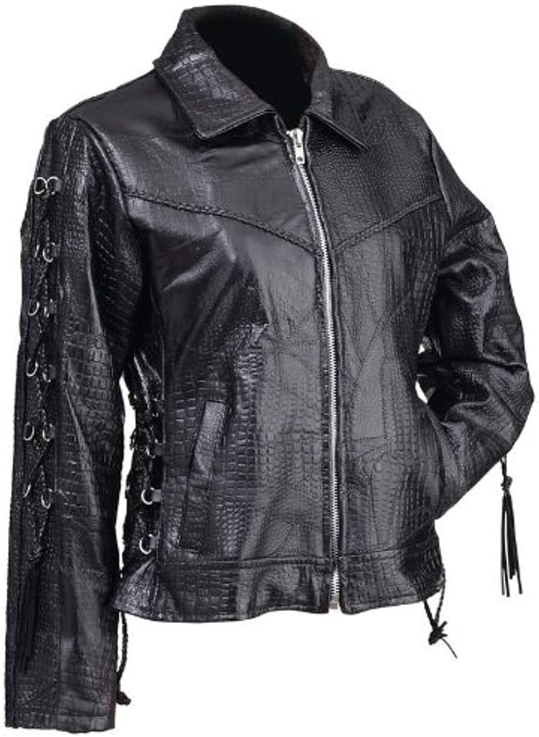 BNF GFpinkS Pebble Leather Lady Jacket