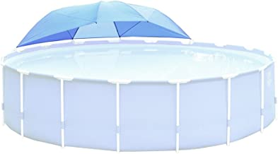 Intex Pool Canopy Shade for Metal Frame and Ultra Frame Above Ground Pools 12 to 18 Feet in Diameter