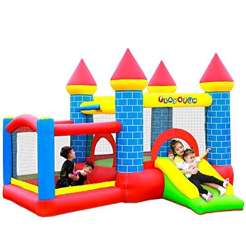 Château Gonflable pour Enfants 3m : Aire de Jeux...