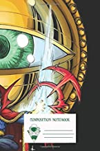 Composition Notebook: Doctor Strange In The Agamotto Eye Workbook for Adult