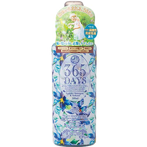 365DAYS ノンシリコン 柔軟剤入り洗剤 Passion Fruity