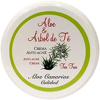 Aloe Canarias 200010 - Crema de aloe vera y árbol del té anti-acné