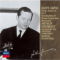 Arthur Grumiaux - Saint-Saens: Vaiolin Concerto No.3. Havanaise. Etc. [Japan LTD CD] UCCD-9819 by Arthur Grumiaux