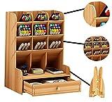 Catekro Boîte de rangement de bureau grande capacité, fournitures de bureau multifonction...