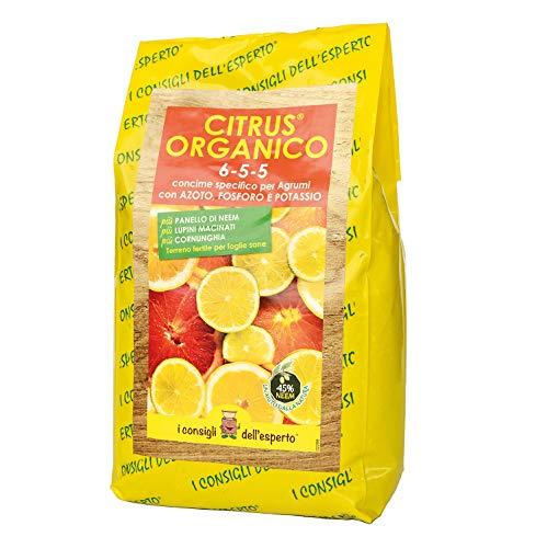 I Consigli Dell'Esperto Citrus Organico Concime Organominerale Specifico per Agrumi
