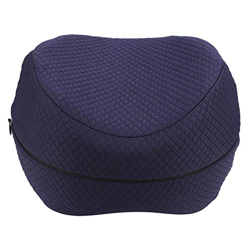 Almohada de rodilla de espuma viscoelástica para el hogar, para alivio de nervios, embarazo, espalda, piernas, cadera y dolor de articulaciones