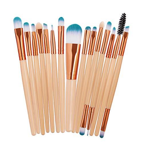 HOUXIAONI Kit De Pinceaux De Maquillage Start The Day Beautifully Kit pour Fard à Paupières Foundation,19-OneSize