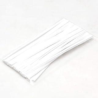 [Amazon限定ブランド] Beautéller 形状保持テープ マスク用 ワイヤー 3mm 手作り 鼻ワイヤー ノーズワイヤー ハンドメイド【10cm 50本】