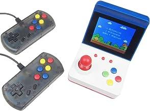 Console Classic Mini -Arcade rétro with Dual Controllers Built-in 360 games-Peut connecter la télévision via un câble AV