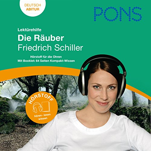 Die Räuber - Schiller Lektürehilfe. PONS Lektürehilfe - Die Räuber - Friedrich Schiller Titelbild
