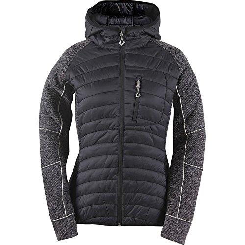 2117 of Sweden Damen Wool-Like Hybrid Jacke Söne, Black, 44