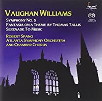 Vaughan Williams: Symphony No. 5/Fantasia on a Theme by Thomas Tallis (2007-04-24)
