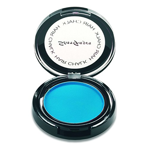 Stargazer Products Haarkreide, Neon Blau, 1er Pack (1 x 4 g)
