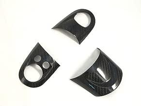 Dry Carbon Fiber Steering Wheel Cover for MINI COOPER R56 S