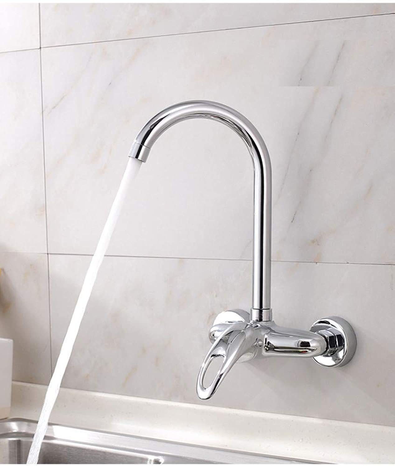 Water Tap Wall-Mounted Hot and Cold redating Faucet Mop Pool Faucet