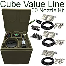 Pynamite Cube Value Line Mosquito Misting System, Small 26 inch Cube Still 55 gallons with 30 Nozzle Kit