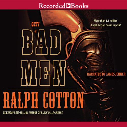 City of Bad Men audiobook cover art