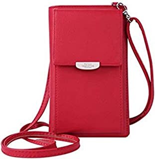 Kukoo Small Crossbody Bag Cell Phone Purse Wallet with Credit Card Slots  for Women 76dbd6818435a