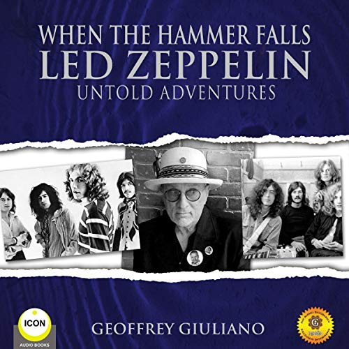 When the Hammer Falls Led Zeppelin - Untold Adventures  By  cover art