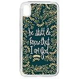 Hoosking Coque pour iPhone XR Bibel vers Zitate