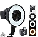 Best Ring Light For Canon 7ds - Fomito Portable LED Macro Ring Flash Light DVR-240DF Review