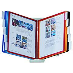 FIND INFORMATION FAST: provides easy access to information you need every day - 10 sleeves display up to 20 letter-size sheets. Brightly colored sleeves and snap-on labels quickly direct you to frequently used information SAVING YOU TIME AND MONEY EA...