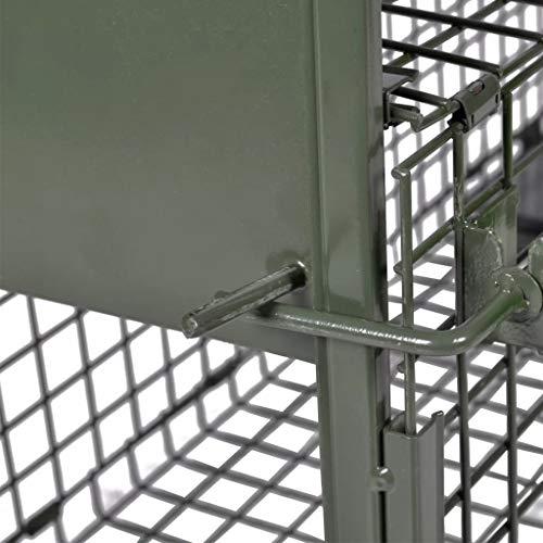 Tidyard Trappola per Animali Vivi con 1 Porta,La Trappola Che Protegge Gli Animali vivi ha Angoli Interni smussati Che proteggono e prevengono Le lesioni degli Animali.