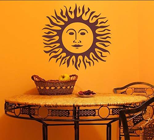 rs-interhandel® Nr. 441 / Sonne als Wandtattoo, Aufkleber, in ihrer Wunschfarbe. Passend in jedes Zimmer. (in bester Qualität aus Markenfolie gefertigt)