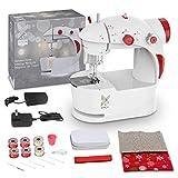Máquina de Coser para Principiantes con Bolsa de Navidad Materiales de Bricolaje
