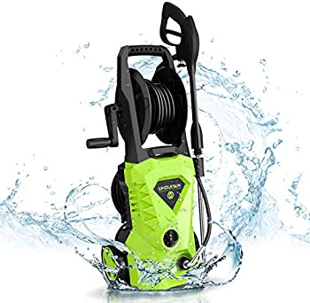Wholesun 1600W Power Washer with Hose Reel and Brush
