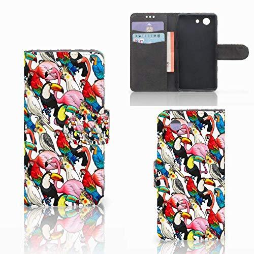 Bookstyle case für Sony Xperia Z3 Compact Handyhüllen Vögel