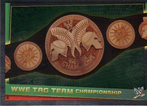 Slam Attax Rebellion Titel Karte WWE Tag Team Championship Karte 45