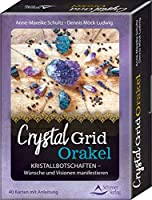 Crystal-Grid-Orakel - Kristallbotschaften - Wuensche und Visionen manifestieren: 40 Karten mit Anleitung