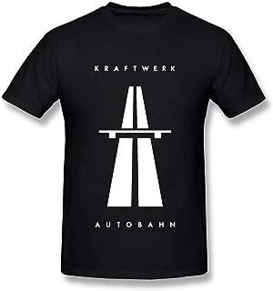Lzeasiea Kraftwerk Autobahn Men's Fashion T-Shirt