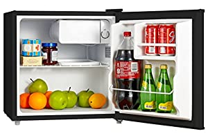 Midea Compact Single Reversible Door Refrigerator, 1.6 Cubic Feet