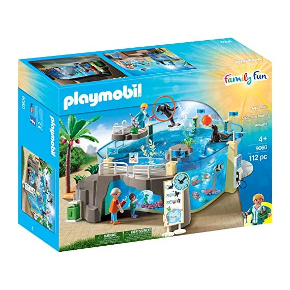 PLAYMOBIL-Aquarium-Building-Set