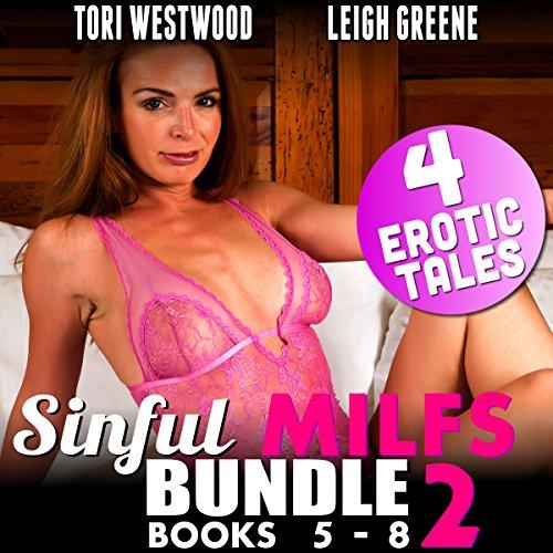 Page de couverture de Sinful MILFs Bundle 2: Books 5-8