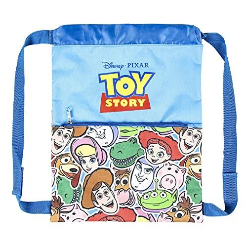 Cerdá Saquito Mochila Toy Story, Zaino Unisex-Bambini, Multicolore, 27.0 x 33.0 cm