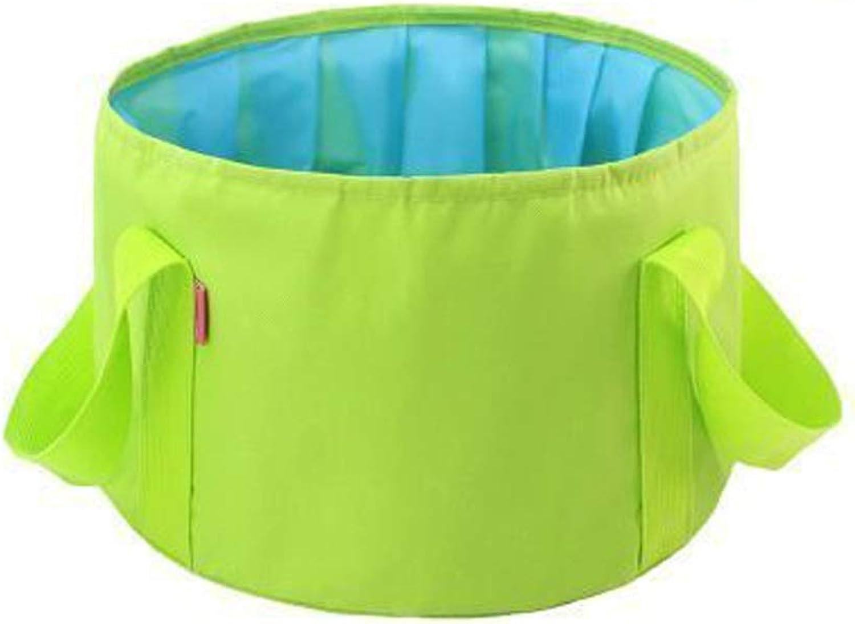 LSTBFQY FH FH FH Tragbares Zusammenklappbares Waschbecken, 15L Große Kapazität Reisewäscherei, Outdoor-Eimer, Multi-Farbe-Auswahl (Farbe   Grün) B07PYF5GKD 2c5cdd