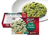 risotto pronti via - risotto carnaroli agli asparagi – pronto in 2 minuti – si conserva fuori frigo – senza conservanti – 100 % prodotto italiano – 300 gr (agli asparagi, singola (1 prodotto))