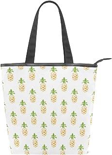 MALPLENA Ananas-Schultertasche für Damen, Arbeitstasche