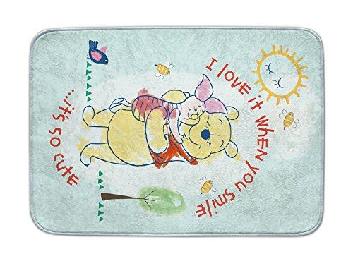 Achoka Disney 04 Alfombra Winnie-The-Pooh Hilado a Mano, pol