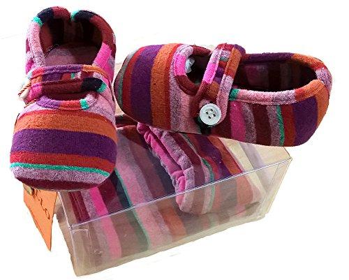 Gallo Baby Jungen (0-24 Monate) Socken Mehrfarbig Amaranto 18